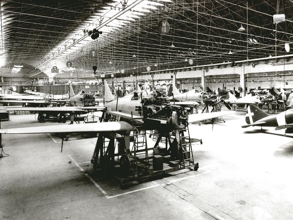 Società Aeronautica Caproni acquires property