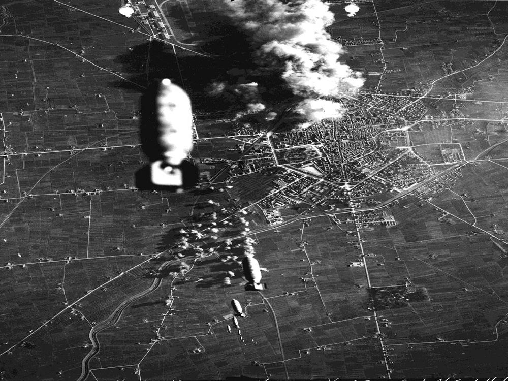 Reggiane are bombed