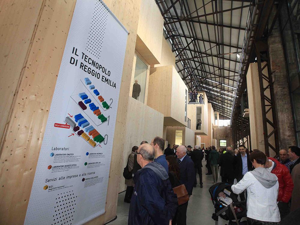 Inaugurazione Tecnopolo
