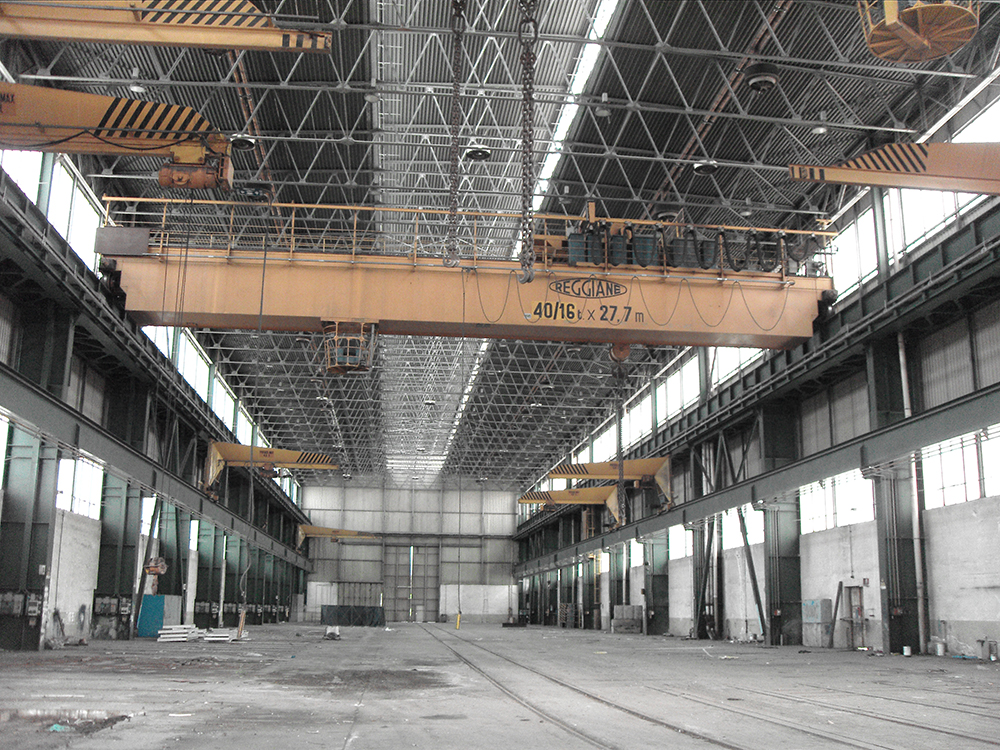 Plants are transferred to Terex and the production site is close
