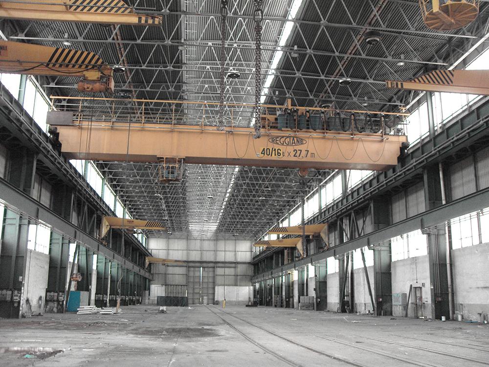 Cessione degli impianti a Terex e chiusura del sito produttivo